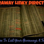 Blogger giveaway linky directory and giveaway sites linky directory