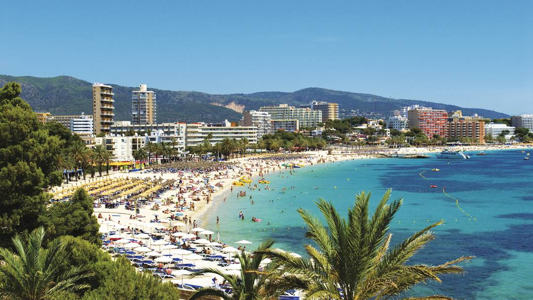 Magaluf Resort on Majorca Spanish Island Vacation on a budget