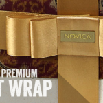Buy from Bali, Thailand or India this holiday season and have the option of Novica Premium Gift Wrap