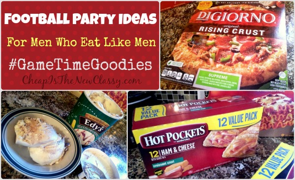 Football Party Ideas - Food For Men Who Eat Like Men #ad #shop #cbias #GameTimeGoodies
