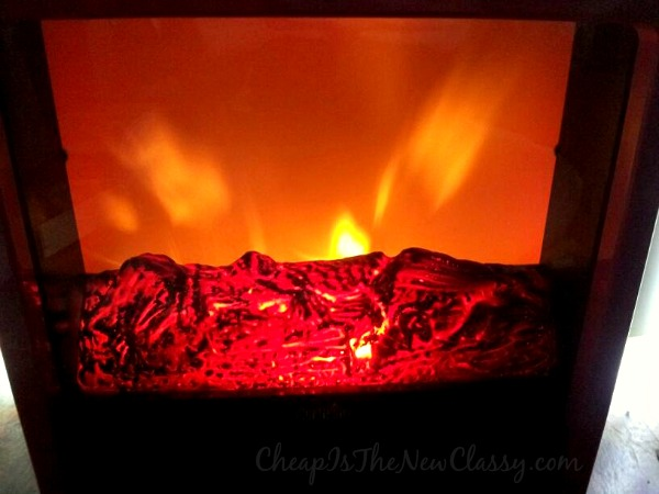 Duraflame Fire Cube Space Heater In Red From Twin-Star International #sponsored