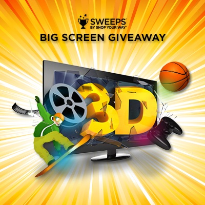 HDTV Shop Your Way Big Screen Giveaway #sweep #ad