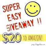 Win a $20 Amazon Gift Code