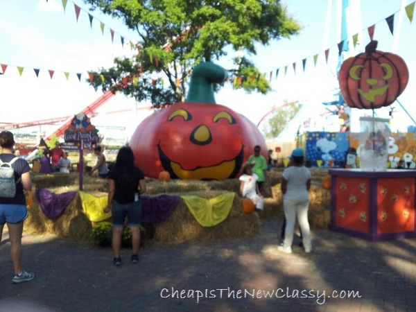 The benefits of visiting a theme park during the fall #sponsored
