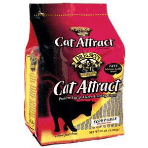 Cat Attract Cat Litter to help your cat use the restroom like a gentleman #sponsored