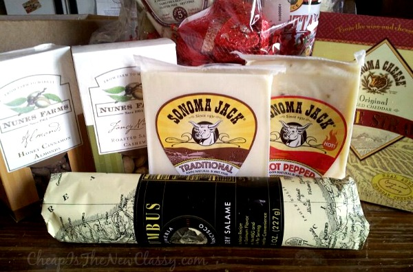 Gift Idea: California Delicious Gift Baskets make great gifts for any occasion #sponsored