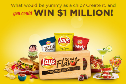 Lay's Do Us A Flavor Potato Chip Contest: You Could Win A Million Dollars! #MC #sponsored #dousaflavor
