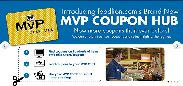 Load Food Lion coupons to your MVP card or print at home with the new coupon hub.