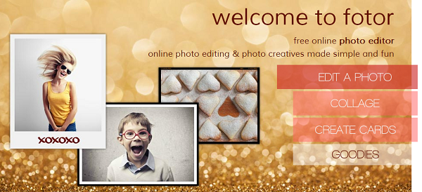 Create a custom photo collage with Fotor free photo editing service