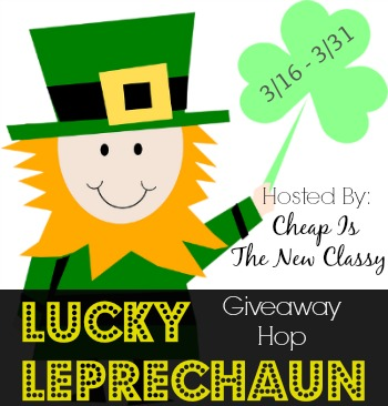 Signups are open for the Lucky Leprechaun Giveaway Hop which will run 3/16 - 3/31 and feature a ton of prizes to win valued at $25 or higher.