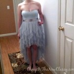 Frugal prom dress stores: We got Amber's prom dress for $75!