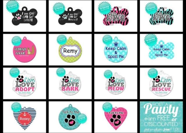 For Tails Only Pet Tags #sponsored