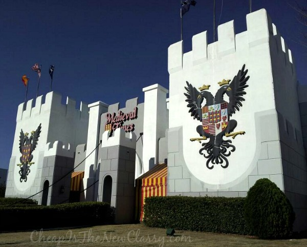 See live jousting at Medieval Times Dinner and Tournament in Myrtle Beach, SC #sponsored