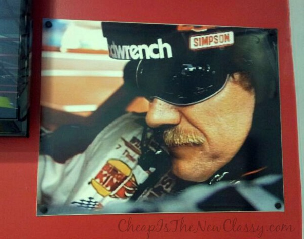 Photo of Dale Earnhardt at NASCAR Speedpark Myrtle Beach #sponsored