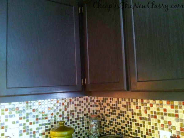 ... we did with a Nuvo cabinet paint kit in just a few hours. #sponsored