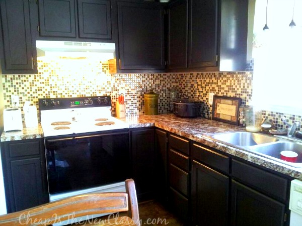 Want to change your kitchen cabinets but you donu0027t have much cash or time