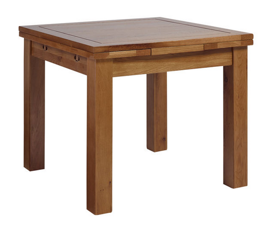 Dining Room Sets - Rustic Jacobean Oak table from Wren Living #sponsored