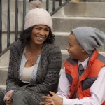 May (Nia Long) and Rick (Massai Z. Dorsey) in Tyler Perry's The Single Moms Club #sponsored