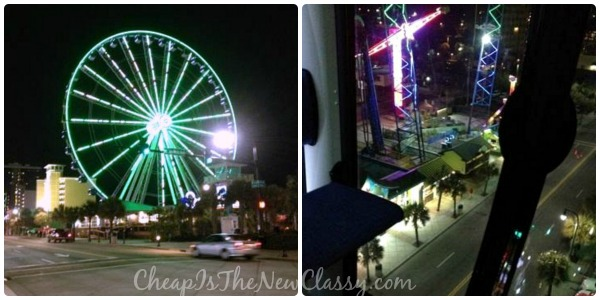 See the Myrtle Beach Strip and the Atlantic Ocean from 200 feet above the ground on the SkyWheel.