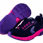 Therafit Deborah Women's Sneaker in purple, black and pink #sponsored