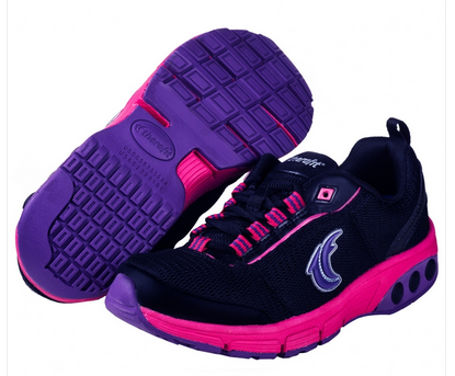 Therafit Deborah Women's Sneaker in purple, black and pink #sponsored