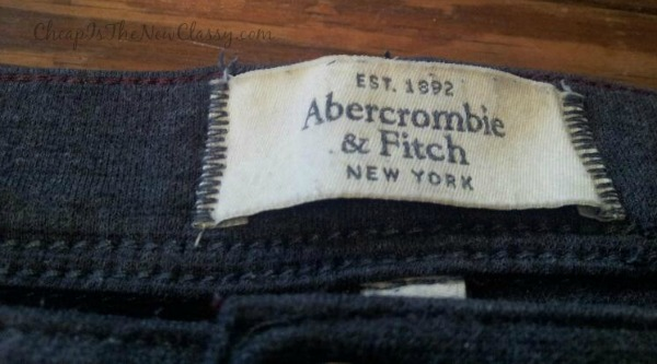 Get name brands like Rock and Republic, Abercrombie and Fitch and Nike for less at thredUP online consignment store. #sponsored