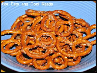 10 Fun Recipes with Pretzels for National Pretzel Day on April 26th: Cinnamon Sugar Pretzels