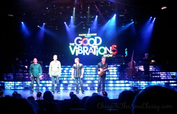 See top notch performers do your favorite music from the 60s, 70s and 80s at Carolina Opry's Good Vibrations Show #sponsored