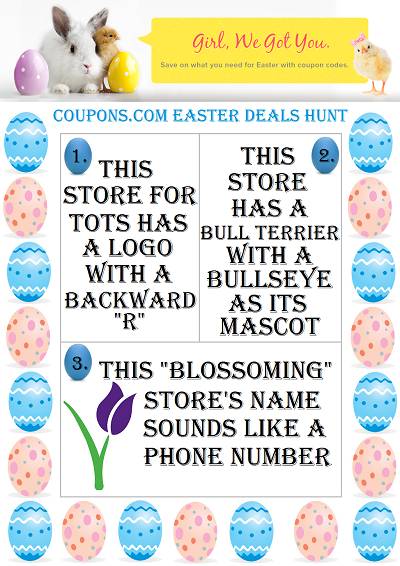 Coupon Codes and Easter Deals at Coupons.com #sponsored