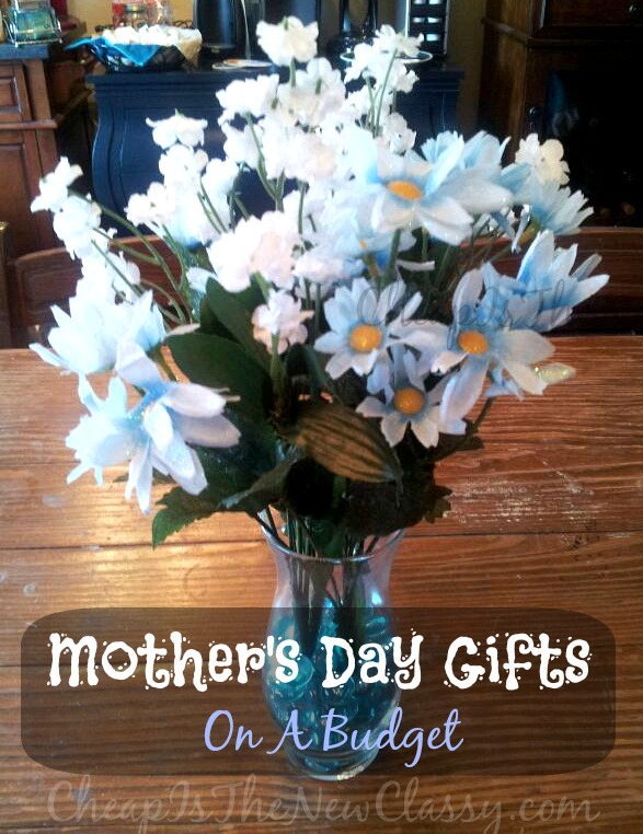 Easy DIY Mother's Day Gift Ideas On A Budget #sponsored