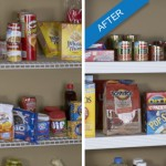 Change the look of traditional wire shelving for a fraction of the cost with Help MyShelf #sponsored