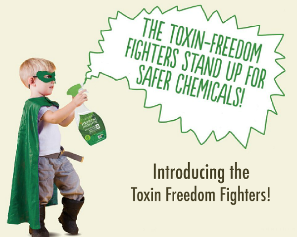 Learn how you can help Seventh Generation fight toxic chemicals #FightToxins #sponsored