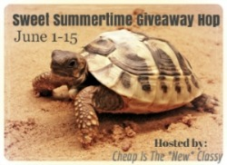 Sign ups are open for the Sweet Summertime Giveaway Hop which will run 6/1-6/15. #sweetsummer
