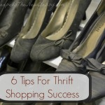 6 Thrift Shopping Tips To Save You Cash