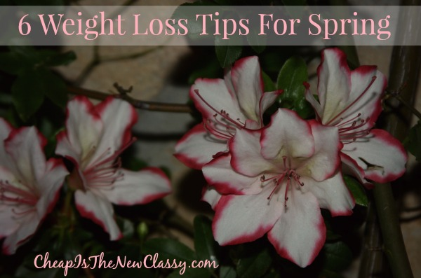 6 Weight Loss Tips For Spring #sponsored