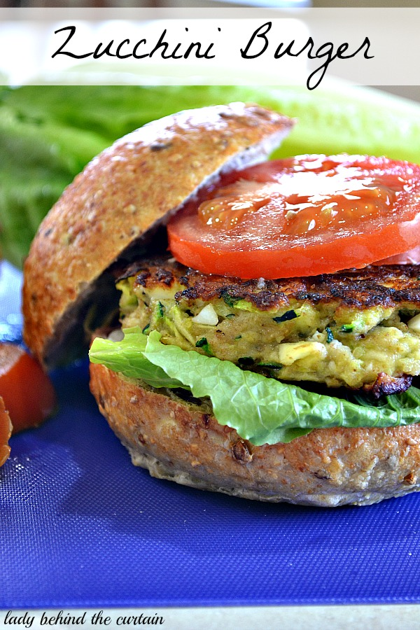 Zucchini Burger: 10 Best Hamburger Recipes for Labor Day, 4th of July and Hamburger Day | Cheap Is The New Classy