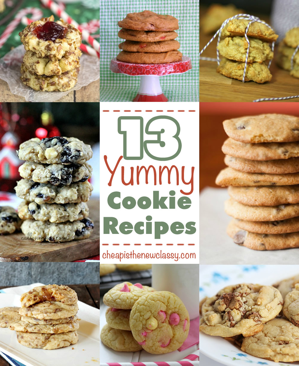 C is for cookie! 13 yummy cookie recipes for Cookie Monster's Birthday | Cheap Is The New Classy