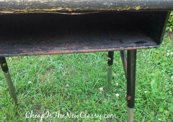 Shabby Chic DIY Vanity Tutorial #sponsored | Cheap Is The New Classy