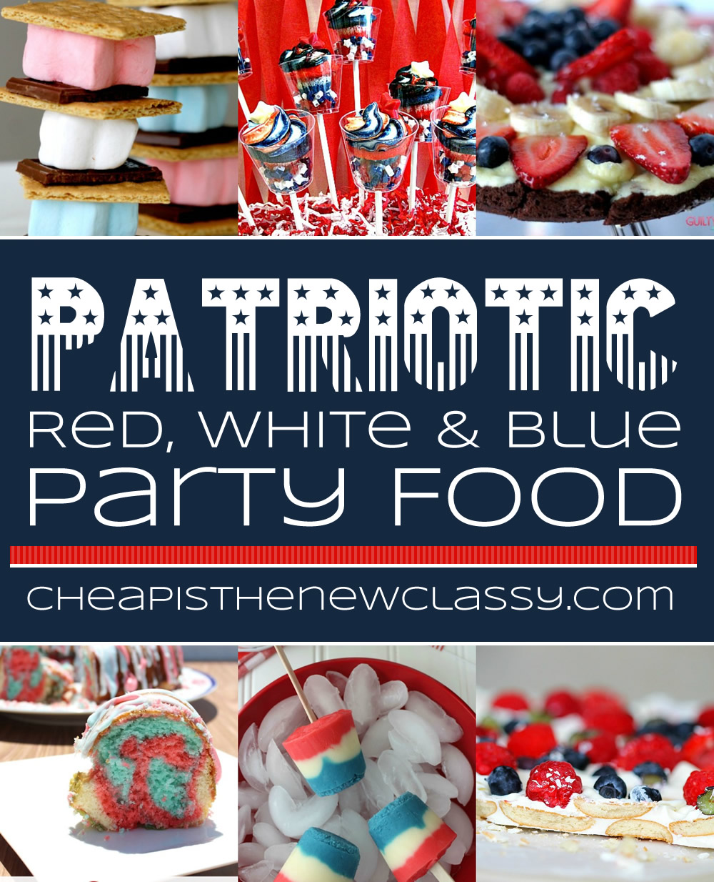 May The Fourth Be With You Treats: Patriotic Party Food Ideas