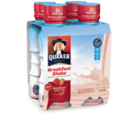 Quaker Breakfast Shakes For A Convenient, Nutritious Breakfast #sponsored #QuakerShakes @Quaker