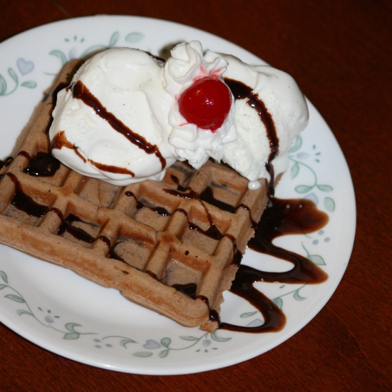 Brownie Waffle Recipe: 10 Insanely Good Waffle Recipes to celebrate National Waffle Day, Waffle Day and Waffle Iron Day | Cheap Is The New Classy