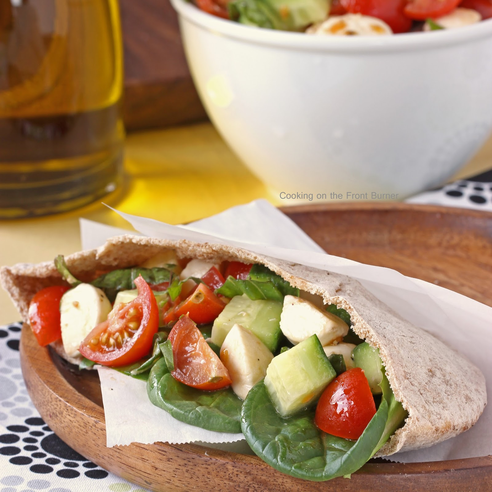 Caprese Salad Pockets: 10 Delicious Recipes With Veggies for Eat Your Veggies Day {Eat Your Vegetables Day} from Cheap Is The New Classy