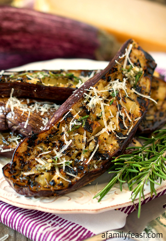 Grilled Graffiti Eggplant: 10 Delicious Recipes With Veggies for Eat Your Veggies Day {Eat Your Vegetables Day} from Cheap Is The New Classy