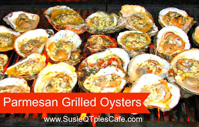 Parmesan Grilled Oysters: 12 Great Grilling Recipes To Whet Your Appetite This Summer | Cheap Is The New Classy