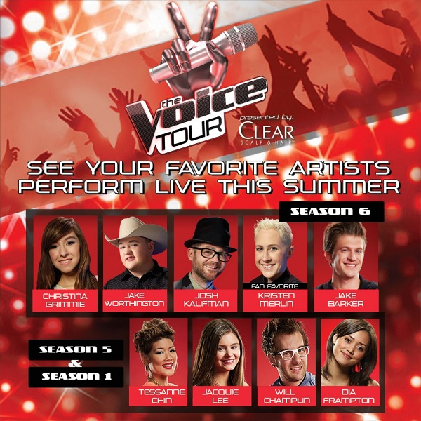 Love watching The Voice? Now you can see it live! Enter to win tickets to see your favorite competitors live in concert! #TheVoice