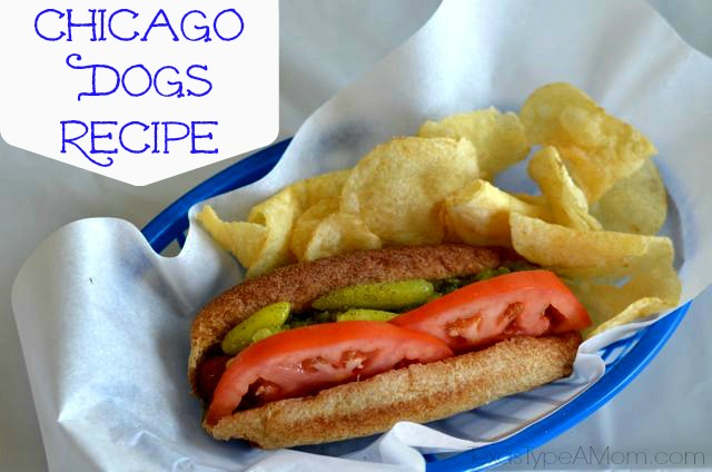 Easy Chicago Dogs Recipe: 10 Delicious Hot Dog Recipes | Cheap Is The New Classy