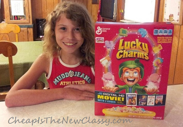 Learn how to get free movie downloads from Big G Cereals #sponsored