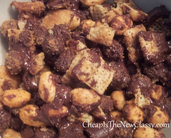 Cocoa Puffs Peanut Chocolate Crunch Recipe #sponsored
