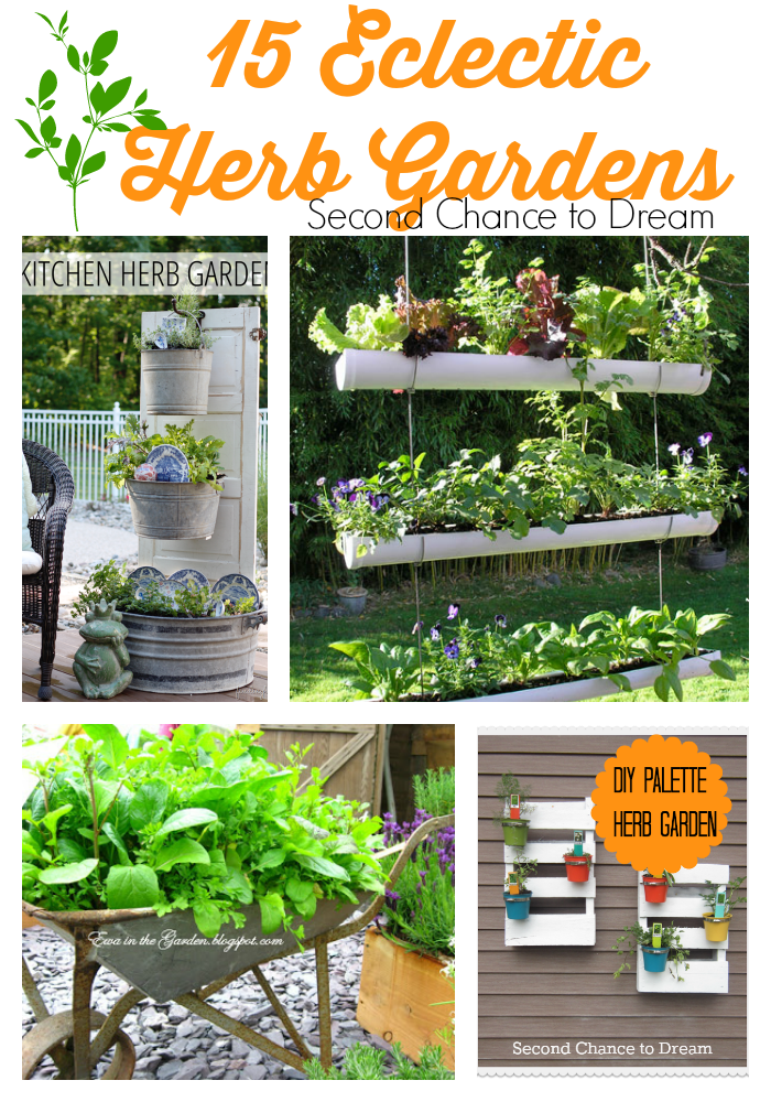 15 Eclectic Herb Gardens: The Ultimate Guide To Fresh Herbs | Cheap Is The New Classy