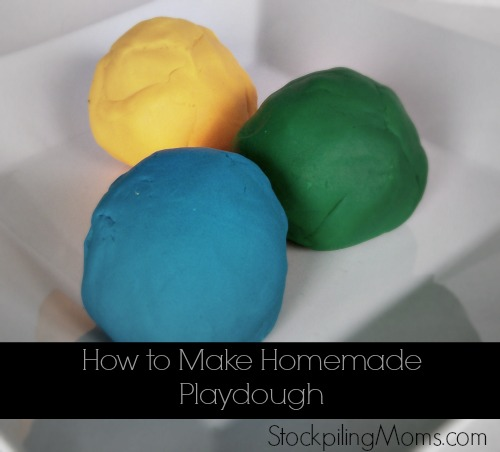 How To Make Homemade Playdough: 6 Easy Play Dough Recipes For National Play-Doh Day | Cheap Is The New Classy